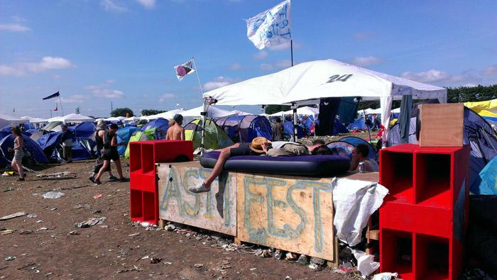 Roskilde-Festival-schlafen
