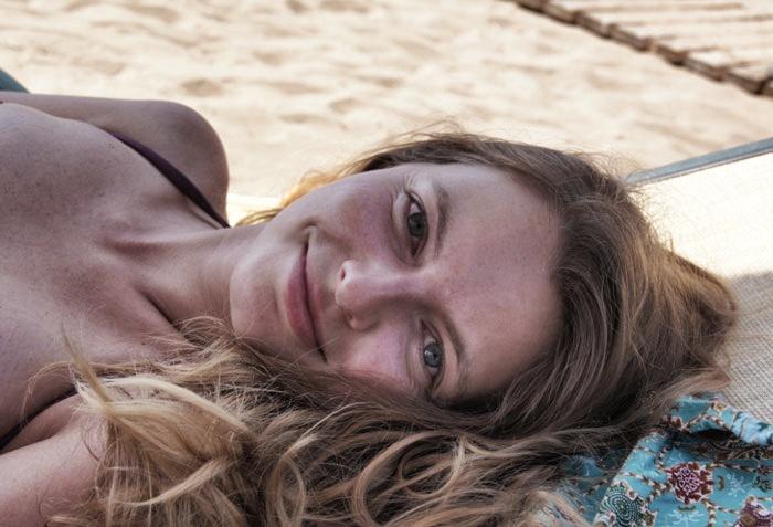 Christine-Neder-Strand-Türkei