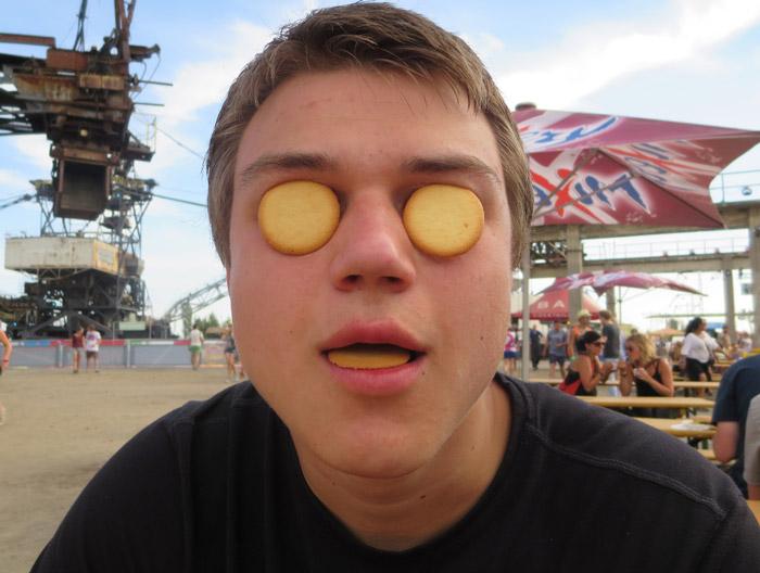 Keks-im-Auge