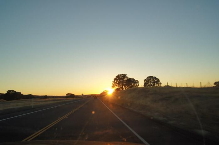Sonnenuntergang-Yosemite-National-Park