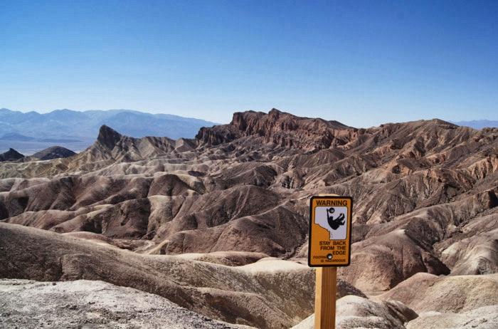 Zabriskie Point-Death-Valley
