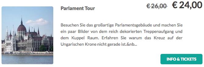 Budapest Parlament Tour