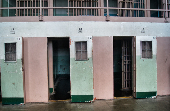 Alcatraz-Sicherheitszellen