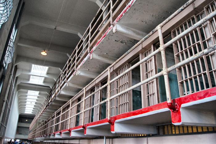 Alcatraz-Zellengebäude