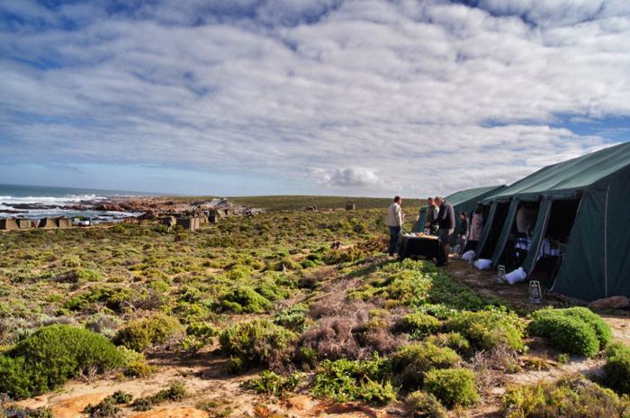 Campingplatz-Namaqualand National Park-Südafrika