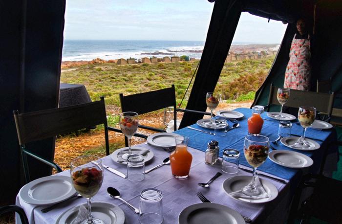 Frühstück-Namaqualand National Park-Südafrika