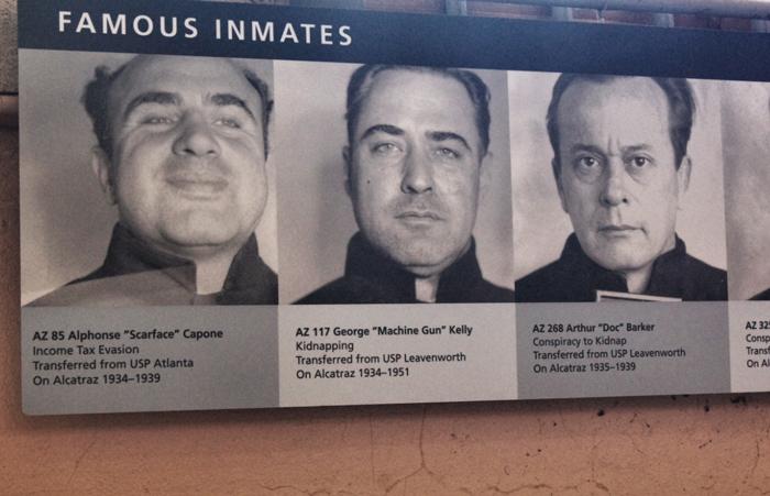 Gefangenen-Alcatraz