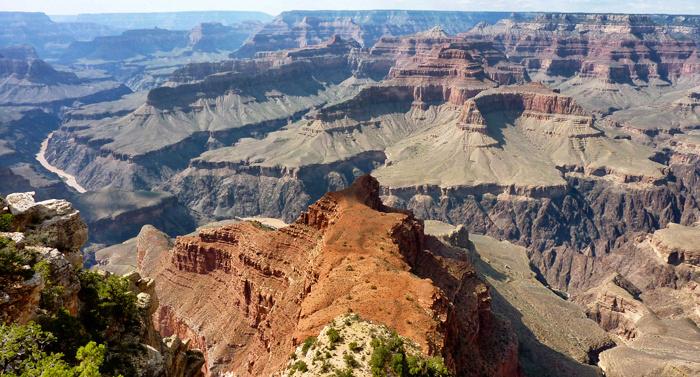 Der Shoshone Point am Grand Canyon