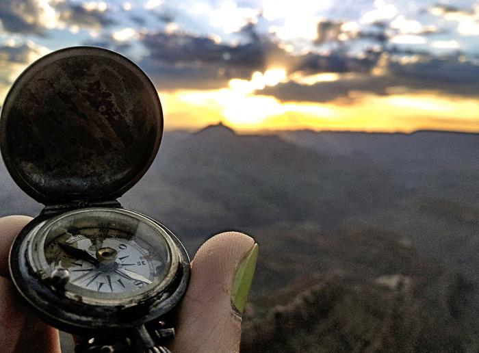 Kompass-Grand-Canyon