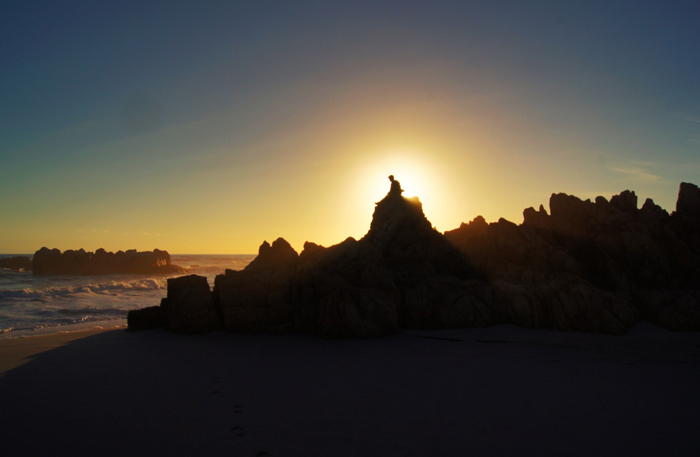 Namaqua-flower-beach-camp-Sonnenuntergang
