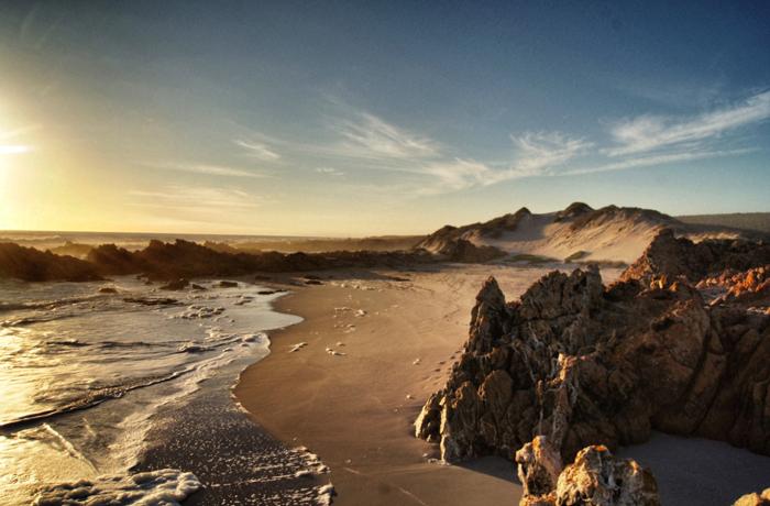Namaqualand National Park-Südafrika-Bucht