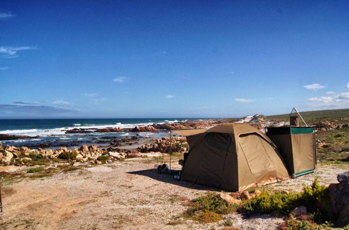 Namaqualand National Park-Südafrika-Campen