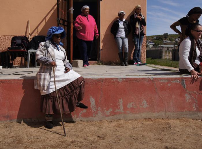 Südafrika-Kharkams-tanzen