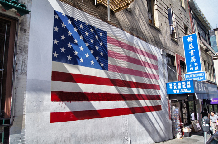 San-Francisco-Flagge-Chinatown