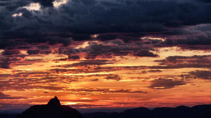 Sonnenuntegrang-Grand-Canyon