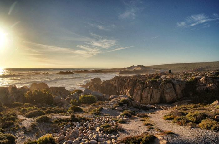 Sonnenuntergang-Namaqualand National Park
