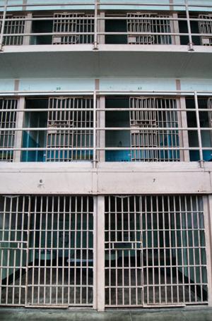 Zellengebäude-Alcatraz