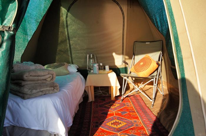 Zelt-Südafrika-Namaqualand National Park-Südafrika