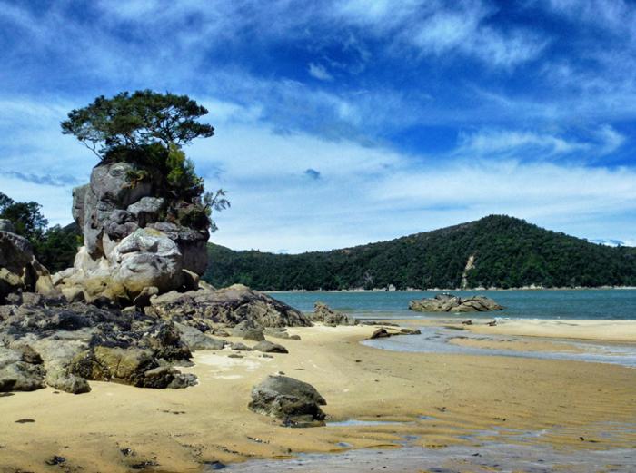Abel-Tasman-Strand-Bucht