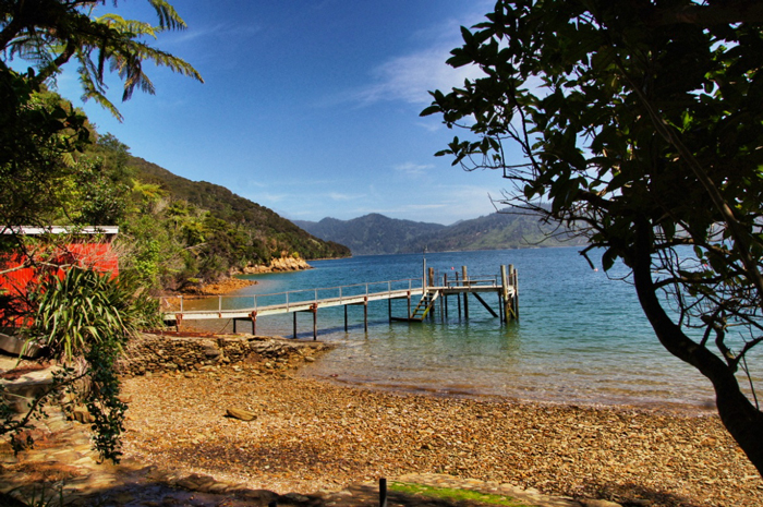 Bucht-Marlborough-Sounds