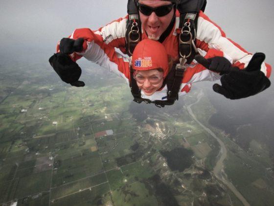 Fallschirmspringen-in Neuseeland