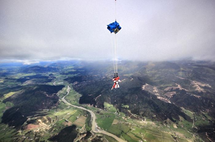 Fallschirmsprung-Neuseeland