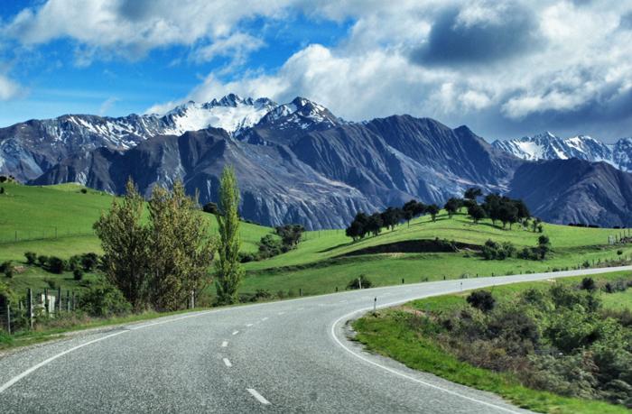 Gletscher-Neuseeland