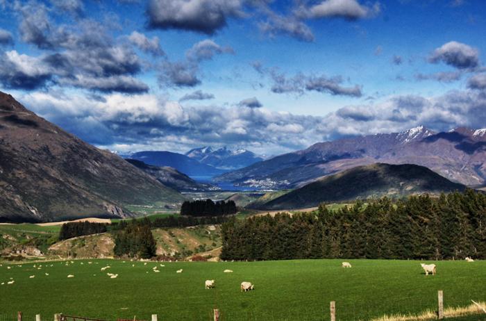Landschaft-Neuseeland-Oktober