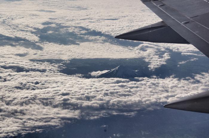 Neuseeland-Blick-aus-dem-Flugzeug