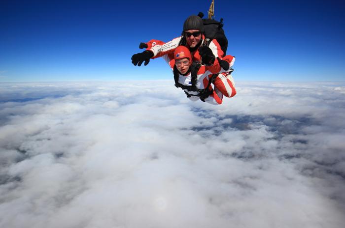 Neuseeland-Fallschirmsprung