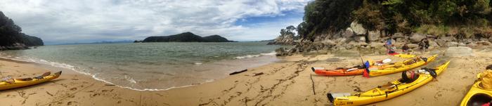 Panoramablick-Abel-Tasman