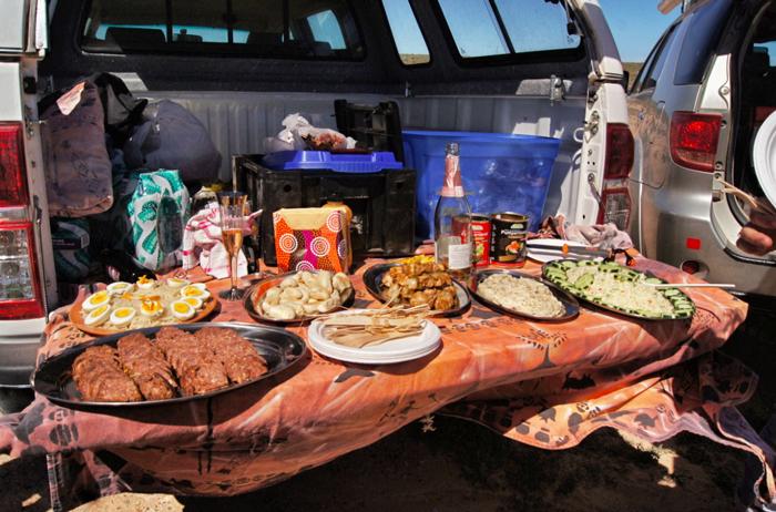 Picknick-in-Südafrika