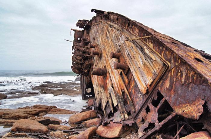 Piratiny-Schiffswrack-Südafrika-Safari