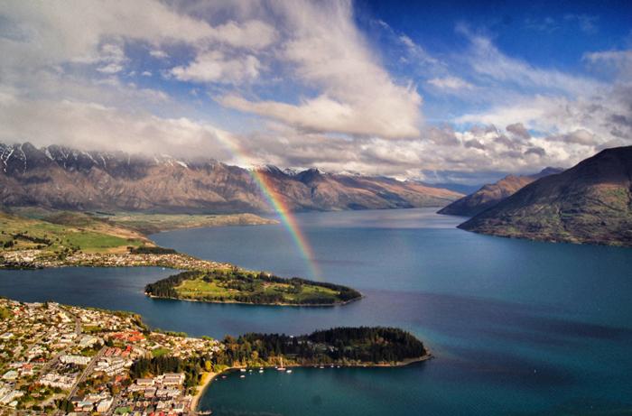 Regenbogen-Lake-Wakatipu