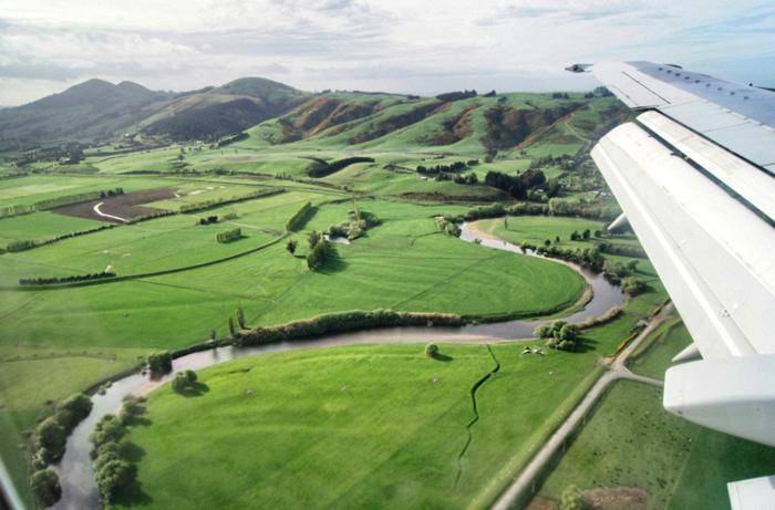 Rundflug-Neuseeland