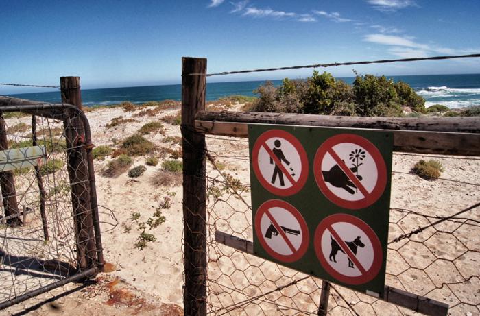 Südafrika-Strand