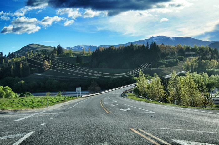 Straßen-Neuseeland