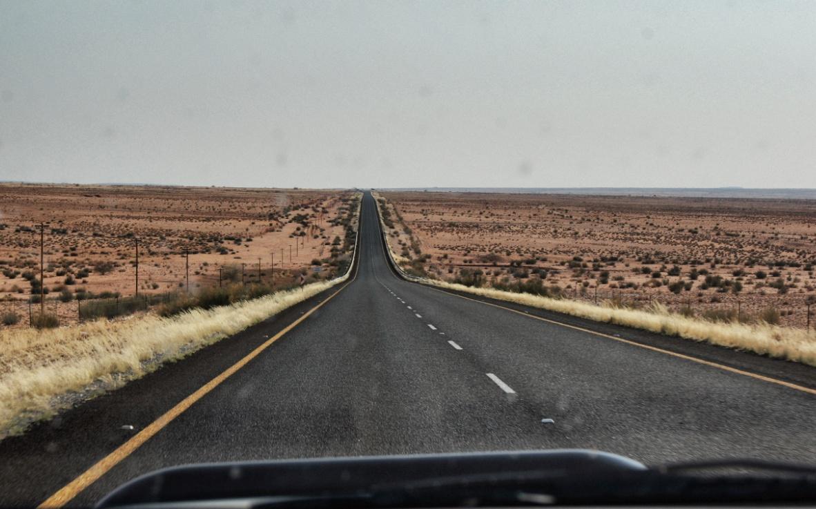 Straßen-Südafrika Safari