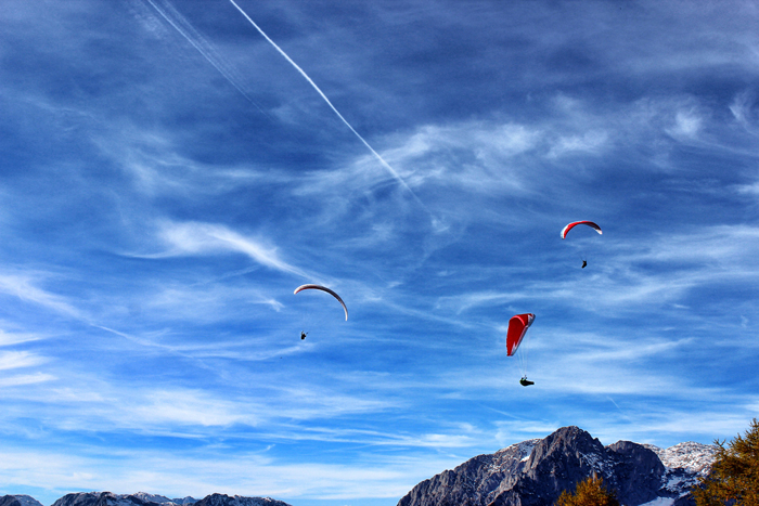 Österreich-Paragliden