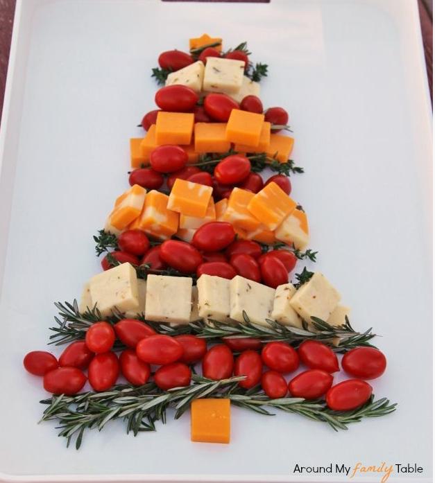Käse-Weihnachtsbaum