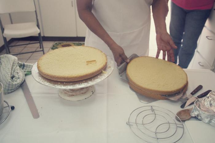 Cashew-Kuchen-Füllung
