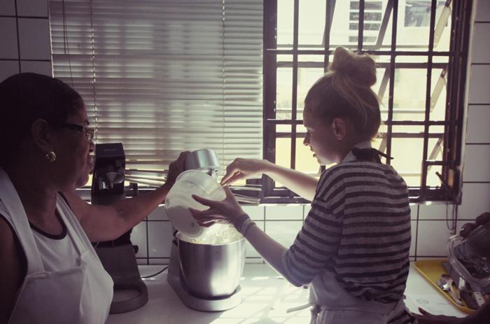Cashew-Kuchen-backen