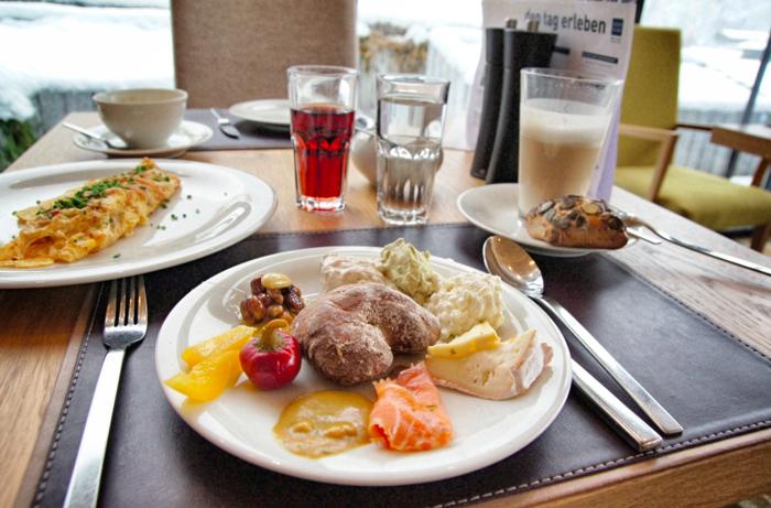 Frühstück-Aqua-Dom