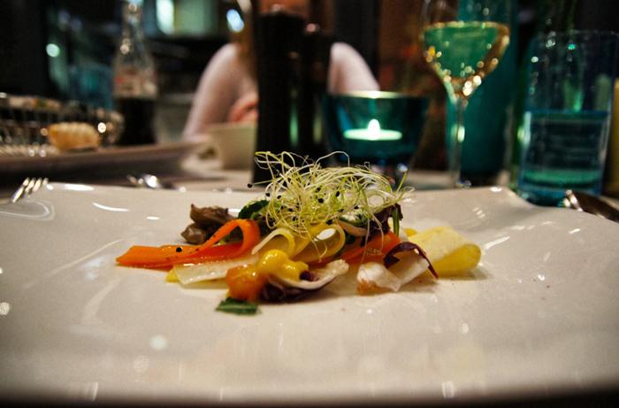 Gemüse-Carapaccio
