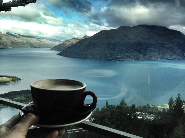Kaffee-Queenstown