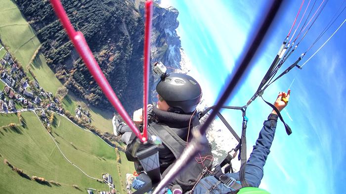 Paragliden in Werfenweng