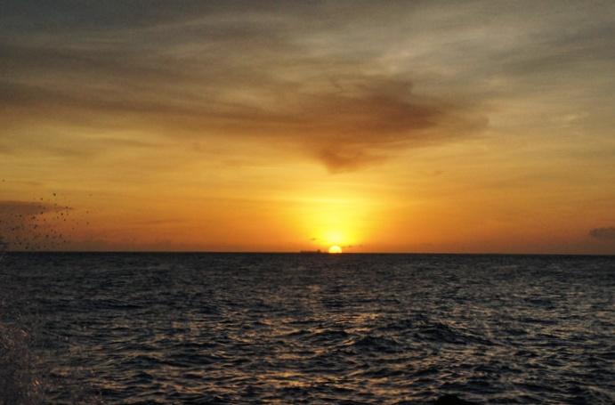 Santa Barbara Resort-Sonnenuntergang