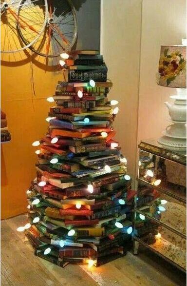 Unechter-Weihnachtsbaum-Bücher