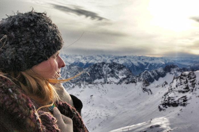 Aussicht-Zugspitze