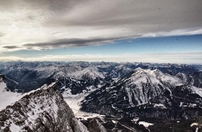 Berge,Alpen,Zugspitze